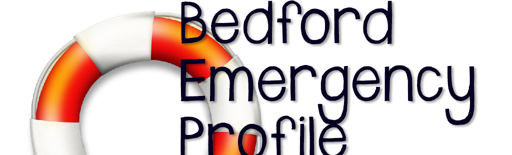 Fill Out Your Bedford County Emergency Profile